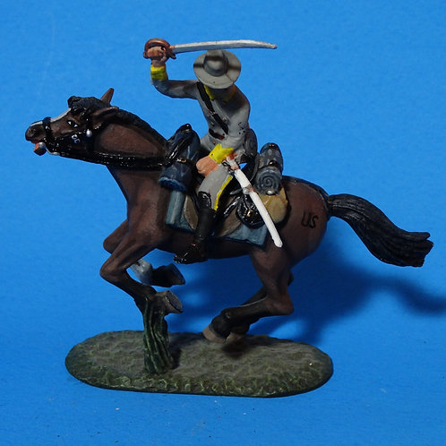 MI-560 - Mounted Confederate with Sword - ACW - Frontline - 60mm Metal - No Box
