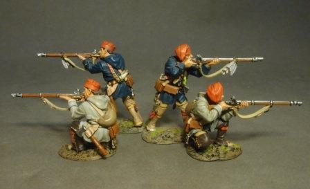 MF-02RN - Quebec Brigade,  4 Militia Skimishing