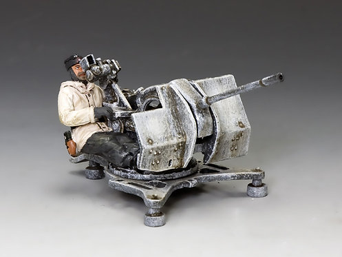 BBG066 - 2cm Flak 38 Gun & Seated Gunner
