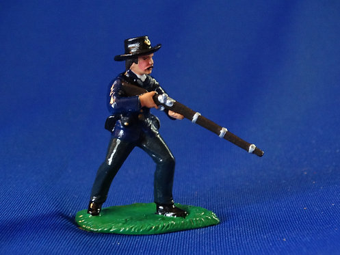 CORD-T096-Union at the Ready - ACW - Trophy - 54mm Metal - Glossy - No Box