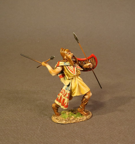 TH-04A - Thracian Peltast, 4th Century BC - Enemies of Ancient Greece