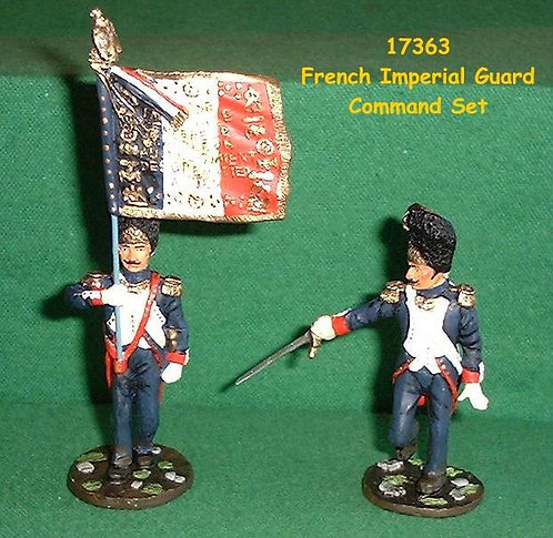 17363 - French Imperial Guard Command Set - 2 Piece Set