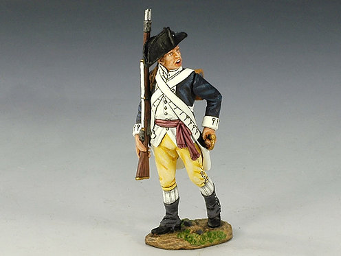 AR066 - Colonial Sergeant with Rifle Marching