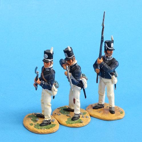 "CORD-A0174 - 7th US Regiment - ""The Cottonballers"" - 3 Figures - (Set 17478)"