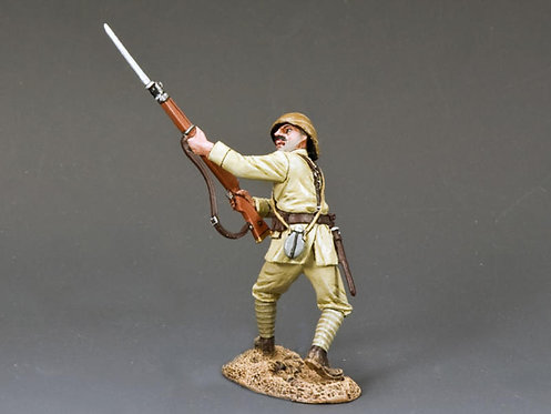 AL034 - Turkish Soldier Thrusting Bayonet
