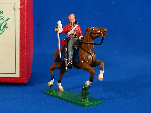 TY006 - British Life Guard Casualty - Napoleonic - Trophy - 54mm Metal - No Box