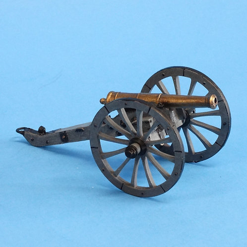 CORD-N2001 Napoleonic Cannon - Napoleonics - Unknown Manufacturer - 54mm Plastic