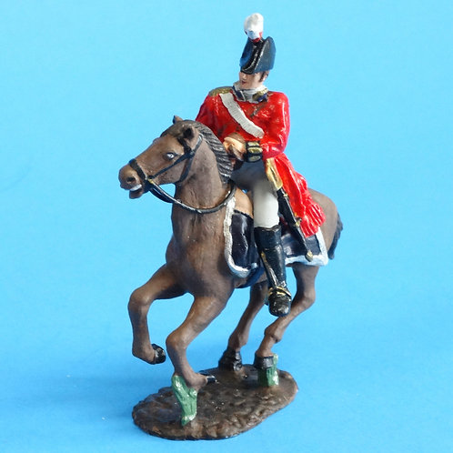 CORD-N1005 British Officer - Mounted - Napoleonics - Unknown Manufacturer - 54mm