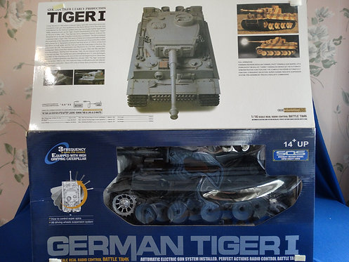 COJG-247 - German Tiger I Tank - WWII - 1:16 Scale - Heng Long - Remote Control