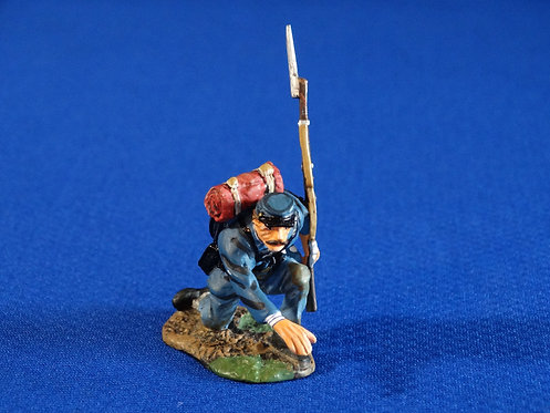 CORD-2105 - Union Infantry - ACW - King and Country - 60mm Metal - No Box