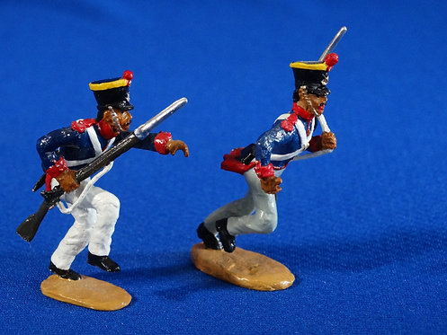 CORD-AL059-Mexican Grenadiers Positioned for Carrying Ladder