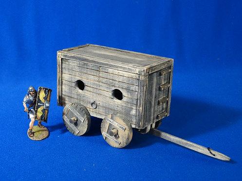 VD-017 - Roman/Medieval Wagon - Wood Construction - 60mm Scale - Volk Designs