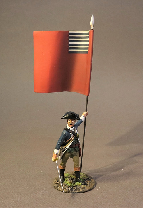 SMASS-02AFLAG - Infantry Officer with Regimental, 2nd Massachusetts Regiment