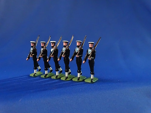 COMS-62 -The Royal Navy 1950 - 6 Other Ranks Marching