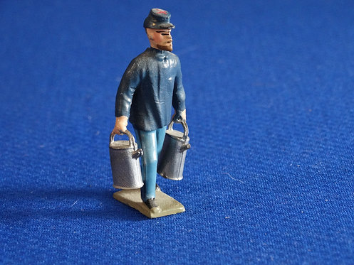 MN020 - Union Infanrty with Supplies- Minot - 54mm Metal - No Box