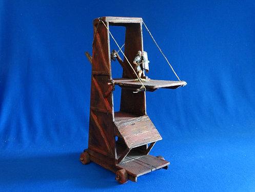 VD-040 - Seige Tower - Roman / Medieval - 60mm Scale - Wood - Volk