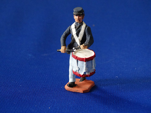CORD-2031 - Union Infantry Drummer - ACW - Unknown Manufacturer - 54mm Metal