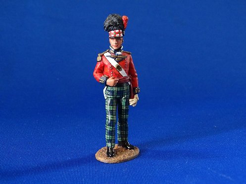 MI-815 - Black Watch Officer (NA038) - Napoleonic - King and Country - 60mm