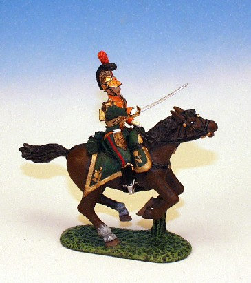 FLL.6. - Officer Leading Troops, Lancers of the Line