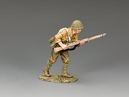 JN028 - Advancing Japanese Soldier