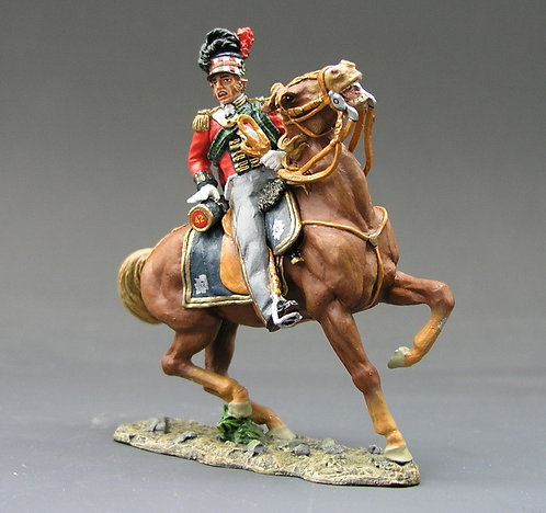 NA047 - Mounted Blackwatch Officer