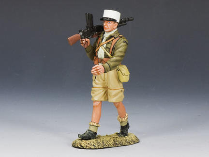 EA064 - Foreign Legion Marching with Light Machine Gun