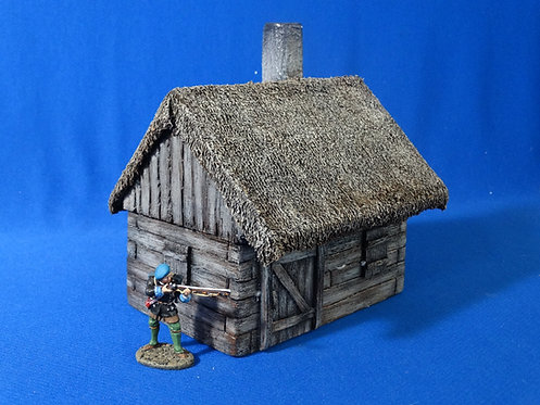 VD-023 - Cabin - 60mm Scale - Foam Construction - Volk Designs