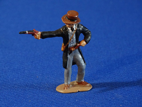 CORD-C065 - Confederate Standing Firing with Pistol - ACW - Unknown Manu