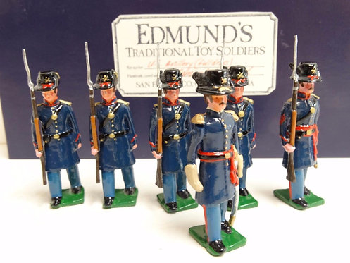 MI-109 - 6 US Artillery (Full Dress) - Edmund's Toy Soldiers
