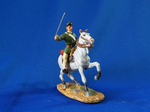 CORD-RA0190 - Mounted Colonial Militia  - AWI - Britians - 54mm Metal
