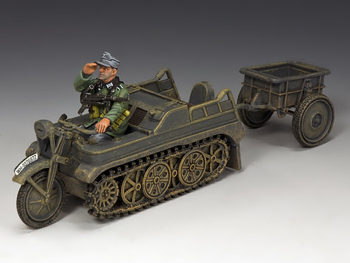 WH023 - Sd.KFz.2 Kettenkrad and Trailer
