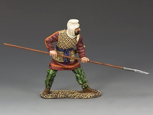 AG021 - Persian Warrior with Spear - KC