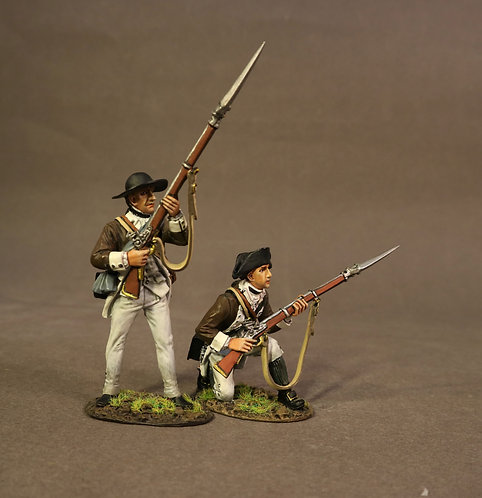SCAN-09 - 2 Line Infantry, Continental Army, 1st Canadian Regiment
