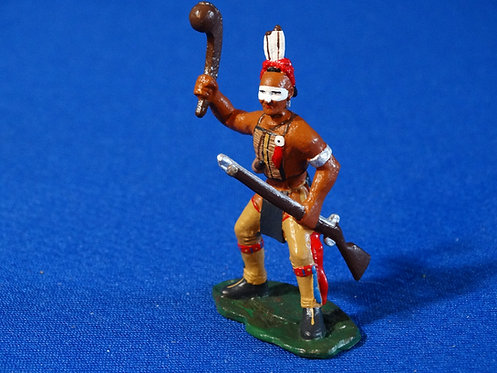 LM-307S - Seneca Indian Leaning Back with Club and Musket - FIW - LeMans