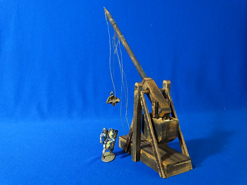VD-014 - Large Trebuchet - Wood Construction - 60mm Scale - Volk Designs