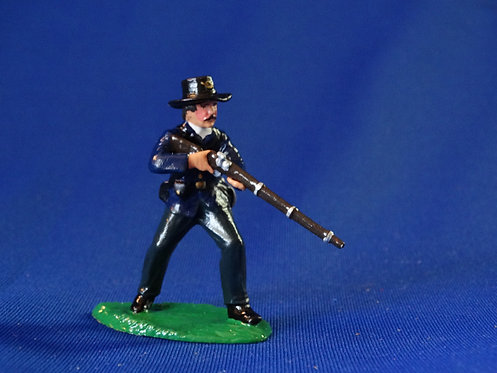 CORD-T098-Union at the Ready - ACW - Trophy - 54mm Metal - Glossy - No Box