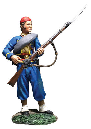 31297 - Union Infantry 146th NY Zouave Reaching for Cap