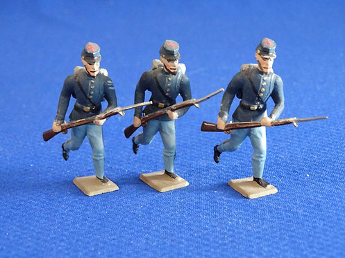 MN006 - Union Infantry - 3 Advancing - Minot - 54mm Metal - No Box