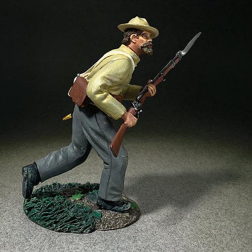 31337 - Confederate Soldier Advancing
