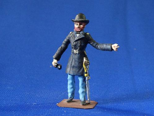 CORD-2015-Union Infantry General - ACW - Hinton Hunt - 54mm Metal - No Box