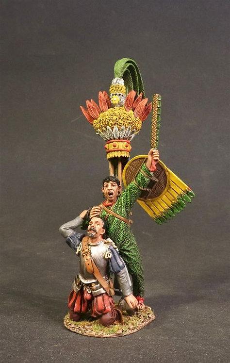 AZ-25 - Aztec Priest with Conquistador Captive