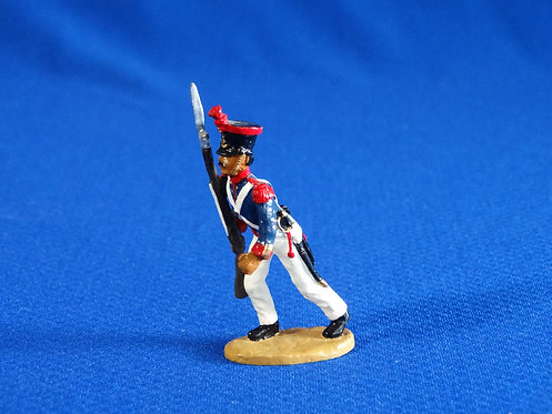 CORD-AL006 - Mexican Grenadiers Advancing - Alamo - Unknown Manufacturer - 54mm