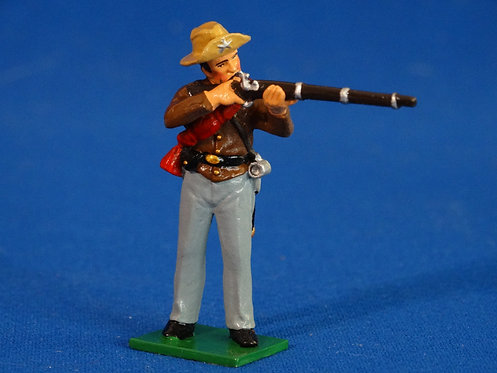 TY010 - Confederate Standing Firing - ACW - Trophy - 54mm Metal - No Box