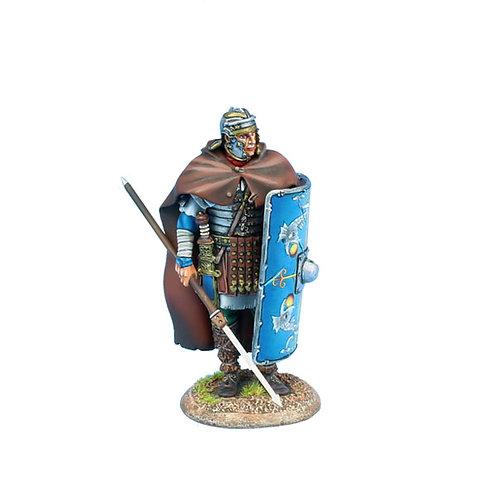 ROM199 - Imperial Roman Legio XXX Legionary Standing with Pilum