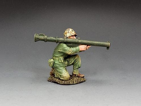 USMC054 - Kneeling Marine with Bazooka