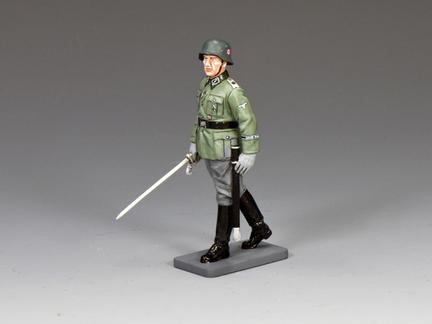 WS338 - Inspecting Waffen SS Officer