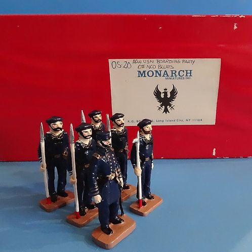 COWF-172 - OS-20 - Monarch Miniatures - ACW USN Boarding Party - 54mm with Box