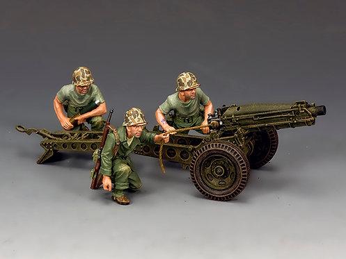 USMC041 - USMC 75mm Pack Howitzer & Crew