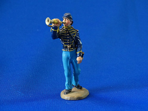 CORD-1174 - Union Dismounted Cavalry  - ACW - Franklin Mint - 54mm Metal - No Bo