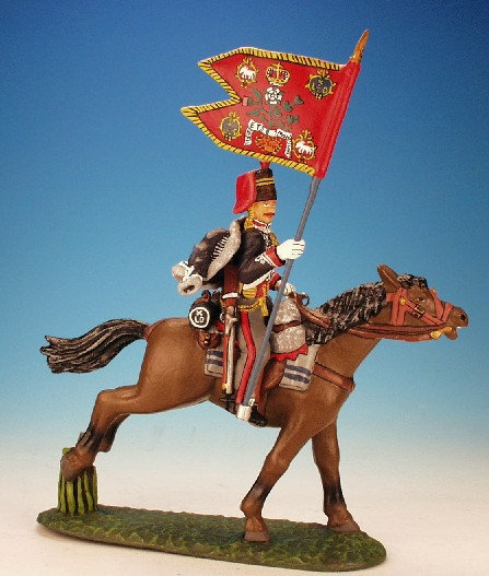 10H.7. - Standard Bearer with Standard, 10th Hussars